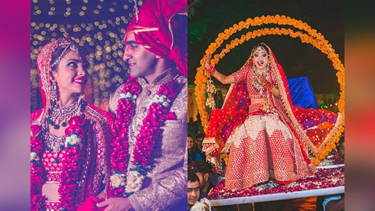 puja benerjee shares wedding photos