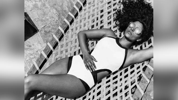 Saiyami Kher Latest Photoshoot For Swimsuit