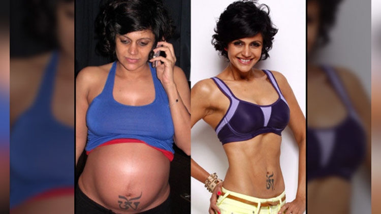 mandira bedis transformation pictures