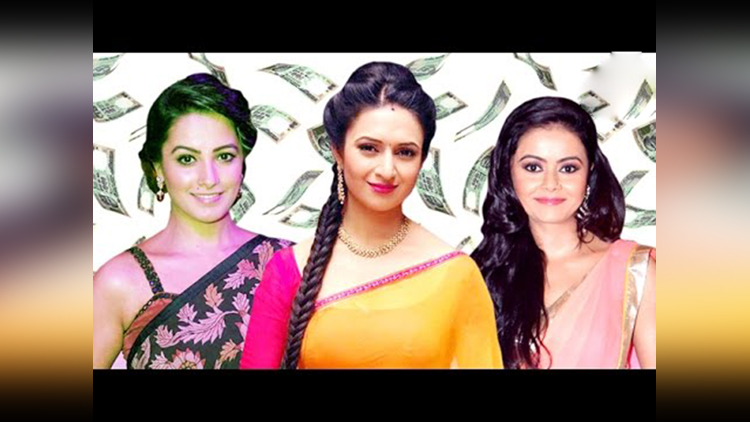 popular TV actresses per day salary