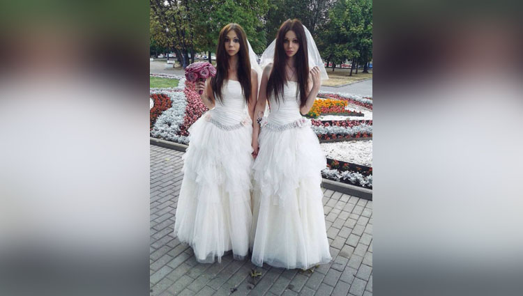 meet the husband and wife who look like identical twins