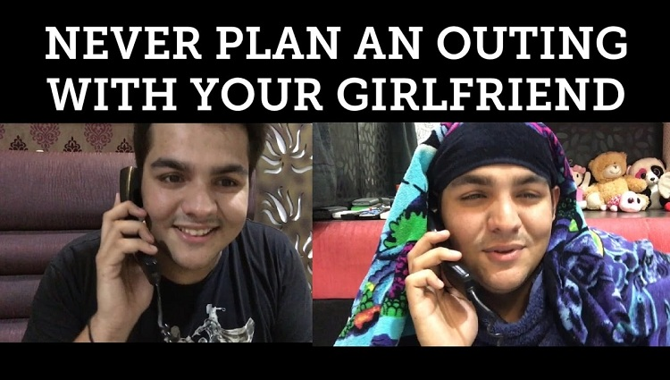 Never PLAN an outing with your girlfriend Ashish chanchlani funny vines