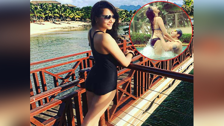Actress Rishina Kandhari is enjoying vacation with husband, see pics