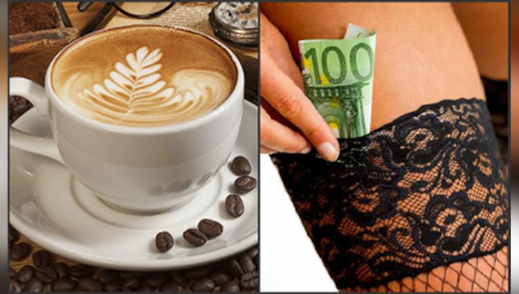 fellatio cafe where customers receive oral sex while they drink coffee