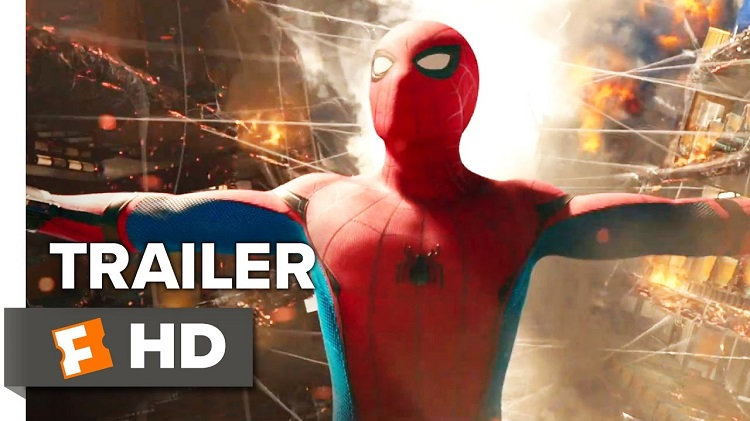 spider-man homecoming trailer 2017