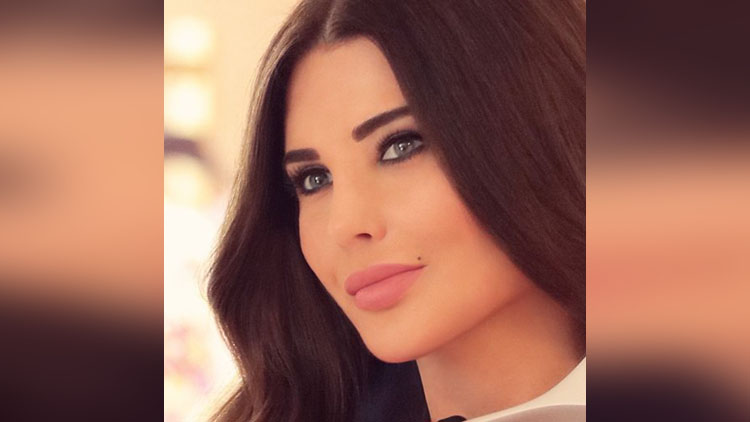 Beautiful TV Presenter in the World Mona Abou Hamze