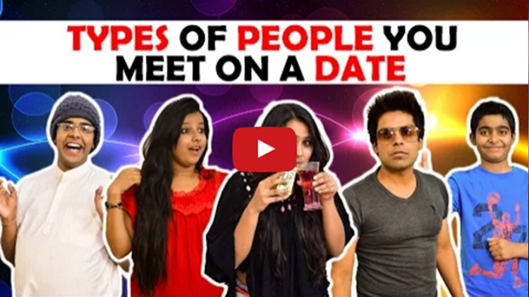 Types of People you meet on a Date