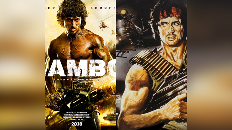tiger shroff first look in rambo is out now
