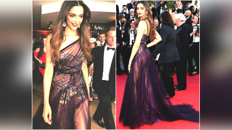 in Cannes 2017 Deepika Padukone walks the red carpet Glamorous is the word