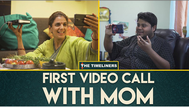First Video Call With Mom The Timeliners
