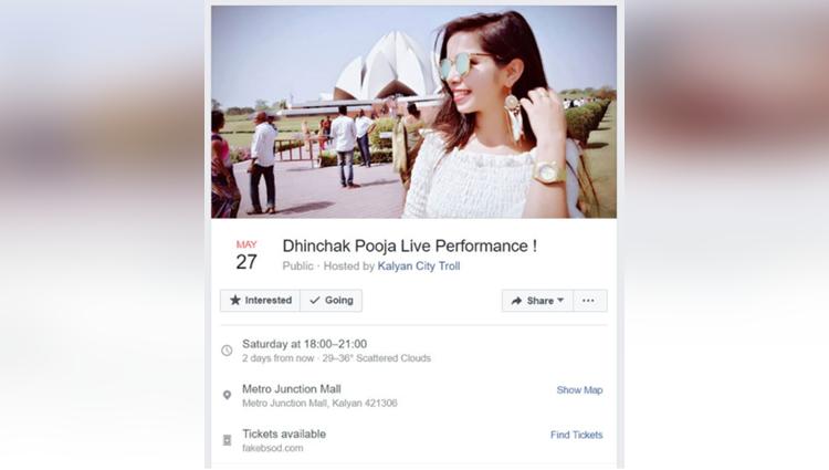 this dhinchak pooja live concert has got everyone talking
