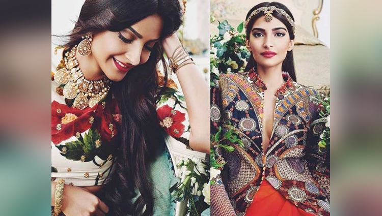 Sonam Kapoor Photoshoot For Khush Wedding Magazine