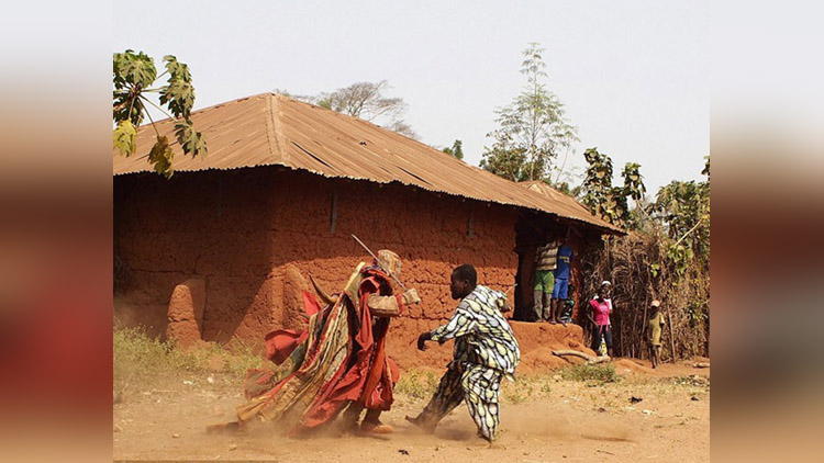 Egungun Secret Society Of Benin Locals Believe Are Living Ghosts