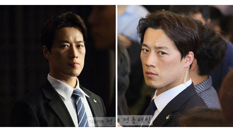 south korean presidents hot bodyguard