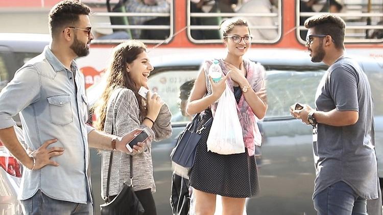 bhabhi prank on cute girls