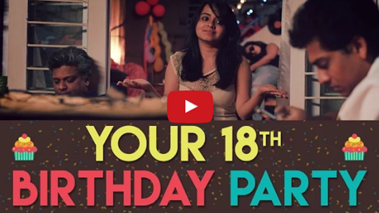 Your 18th Birthday Party