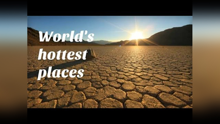 worlds Top 5 most hottest places