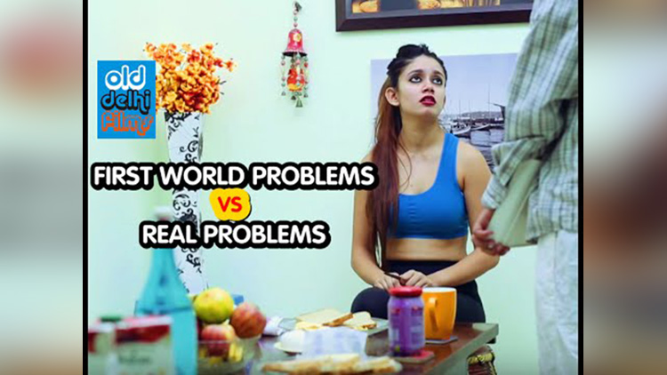 First World Problems VS Real Problems ODF