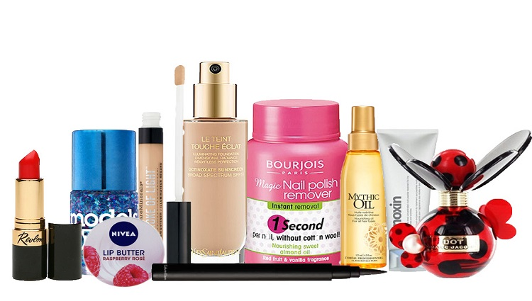 most of the beauty products are all owned by just 7 companies