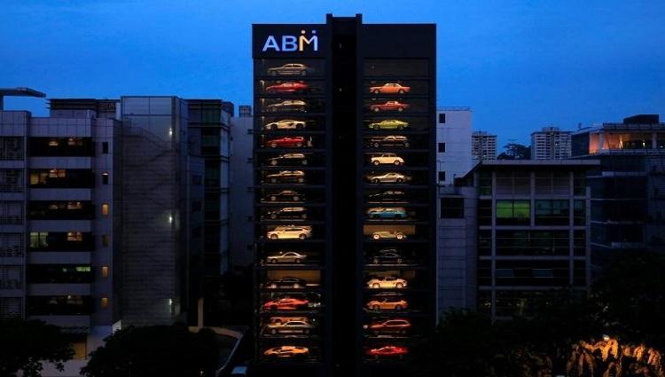the worlds largest luxury car vending machine