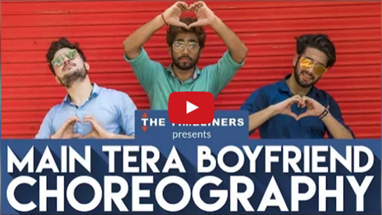 Main Tera Boyfriend dance video
