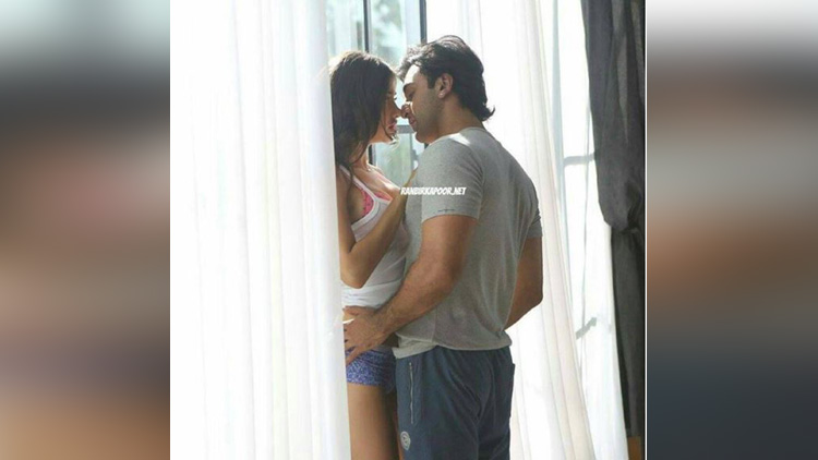 ranbir kapoor gets cozy with a mystery girl
