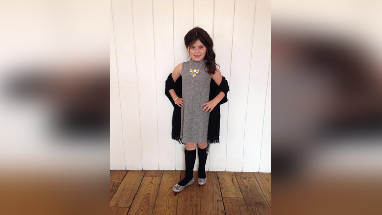 single mum buys daughter 8 so many clothes she never wears the same outfit twice