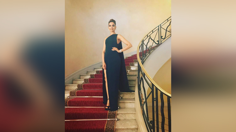 deepika padukone styles up at cannes day 2