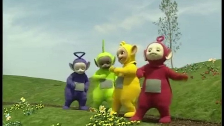 Teletubbies vs. Ed Sheeran Shape Of you