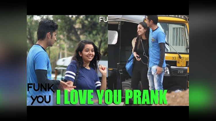Asking Girls To Say I Love You Prank by Funk You