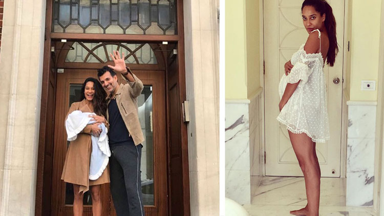 Lisa Haydon's first photo with son, getting viral