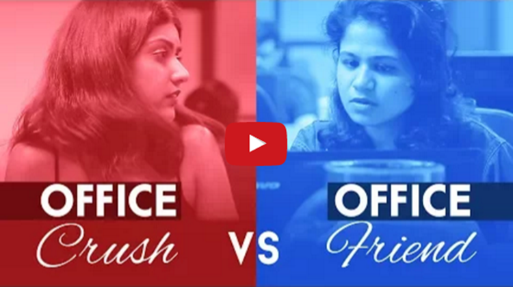 Office Crush vs Office Friend