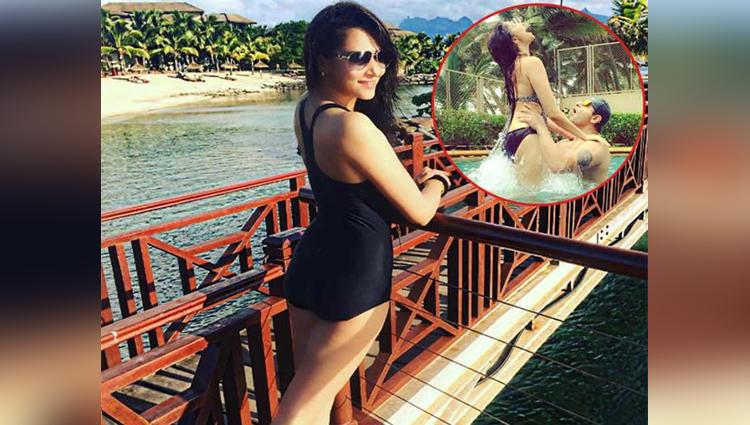 Diya Aur Baati Hum actress Rishina Kandhari enjoying vacation with her husband