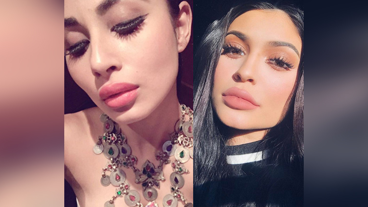 Naagin 2 actress Mouni Roy Looks Exactly Like Kylie Jenner