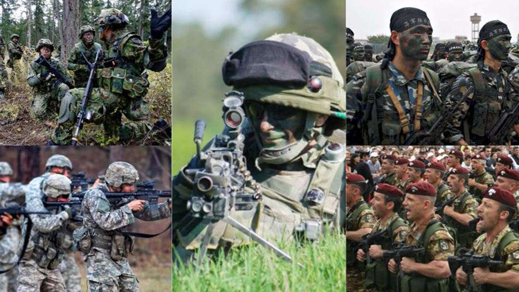 Top 10 Countries with Strongest Armies in the World