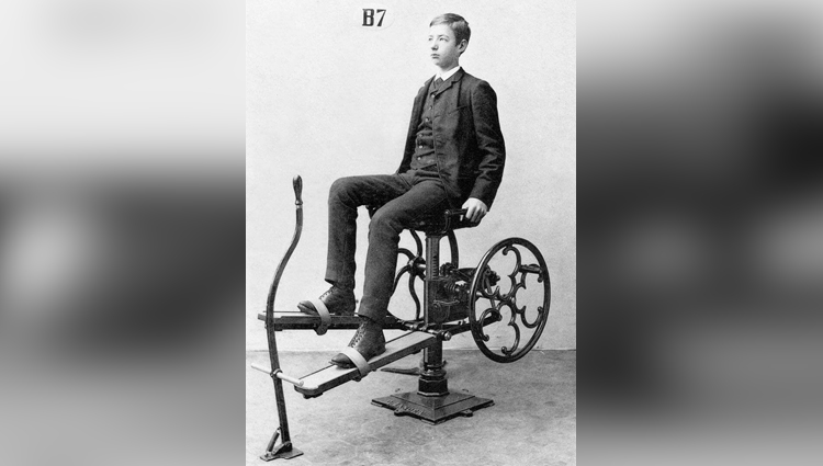this is what going to the gym looked like way back in 1892