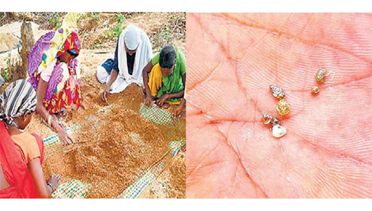 diamonds and other precious gemstones found in sri lanka forest