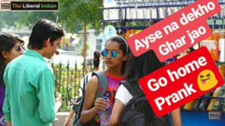 Ghar Jao Go Home Prank Pranks in India Comment Trolling The Liberal Indian TLI