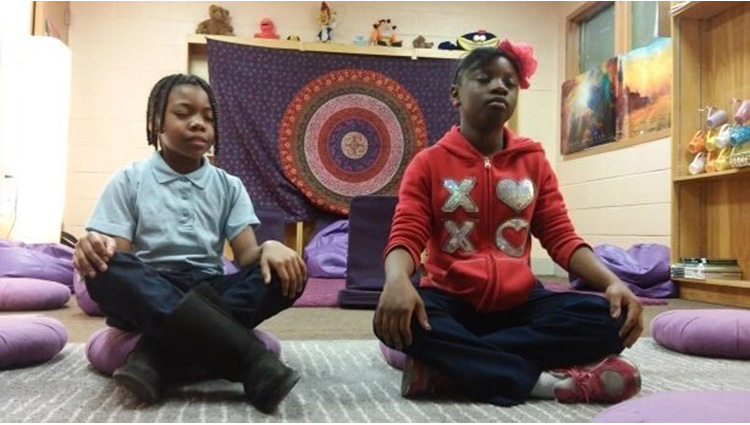 this school replaced detention with meditation the results are stunning