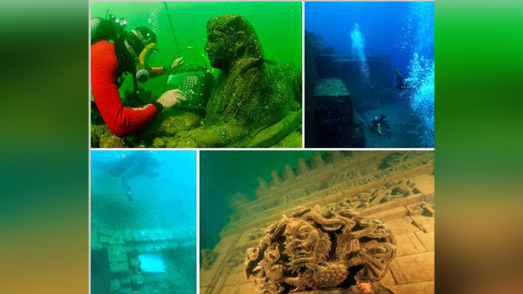 underwater famous cities
