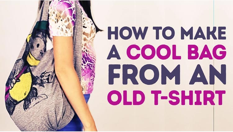 how to reuse your old t shirt