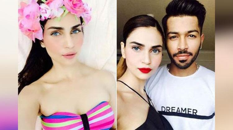 Meet Indian Cricketer Hardik' Pandya's Girlfriend Lisha Sharma