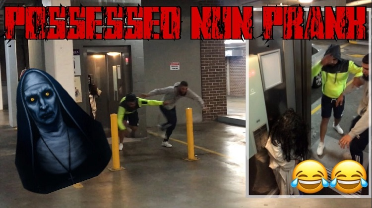possessed nun prank compilation