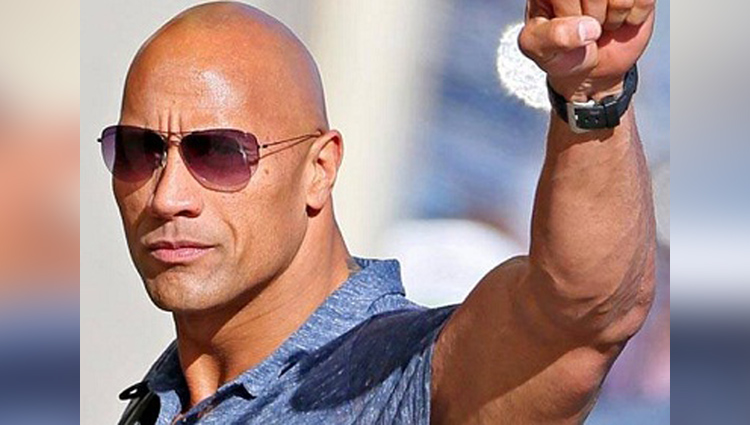 The World Highest Paid Actors The Dwayne Johnson rocks