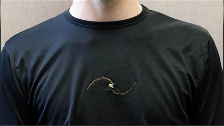 smart t-shirt that extends life
