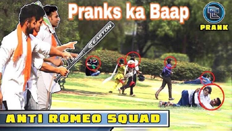 anti romeo squad prank