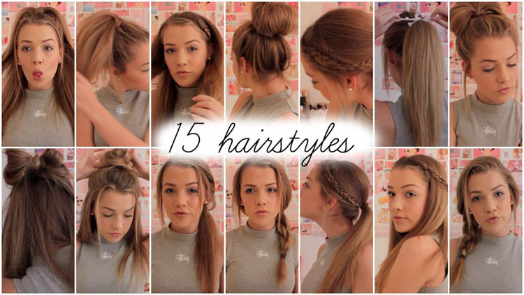 15 heatless hairstyles Lilyellaburt