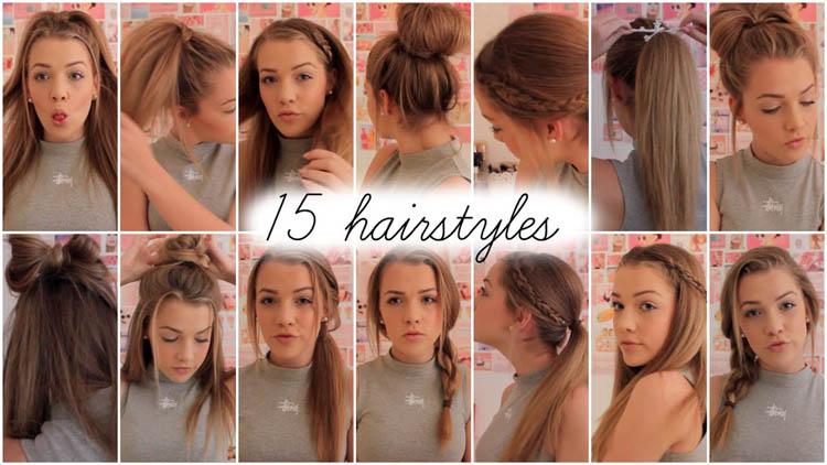 15 heatless hairstyles Lilyellaburt