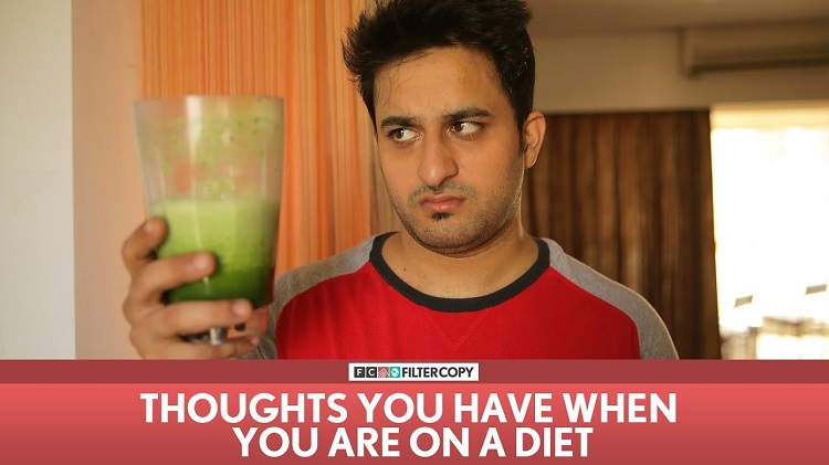 thoughts you have when you are on a diet