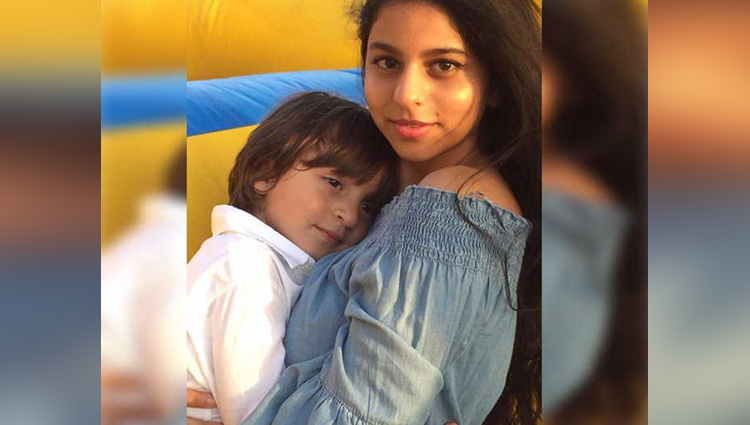 king khan daughter Suhana hugging AbRam Khan is the cutest thing you